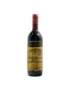 SPANNA DEL PIEMONTE 1986 FRATELLI BERTELETTI Grandi Bottiglie
