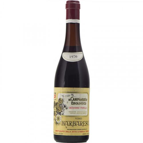 BARBARESCO 1970 PAROLA Grandi Bottiglie