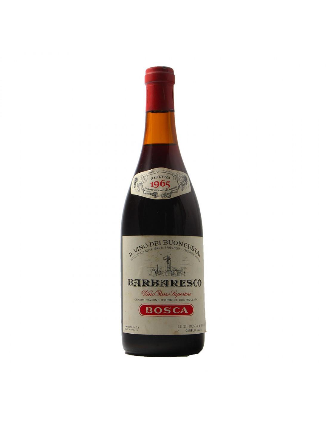 BARBARESCO RISERVA SPECIALE 1965 LUIGI BOSCA Grandi Bottiglie