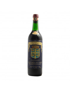 BRUNELLO DI MONTALCINO CLEAR COLOR 1967 FATTORIA DEI BARBI
