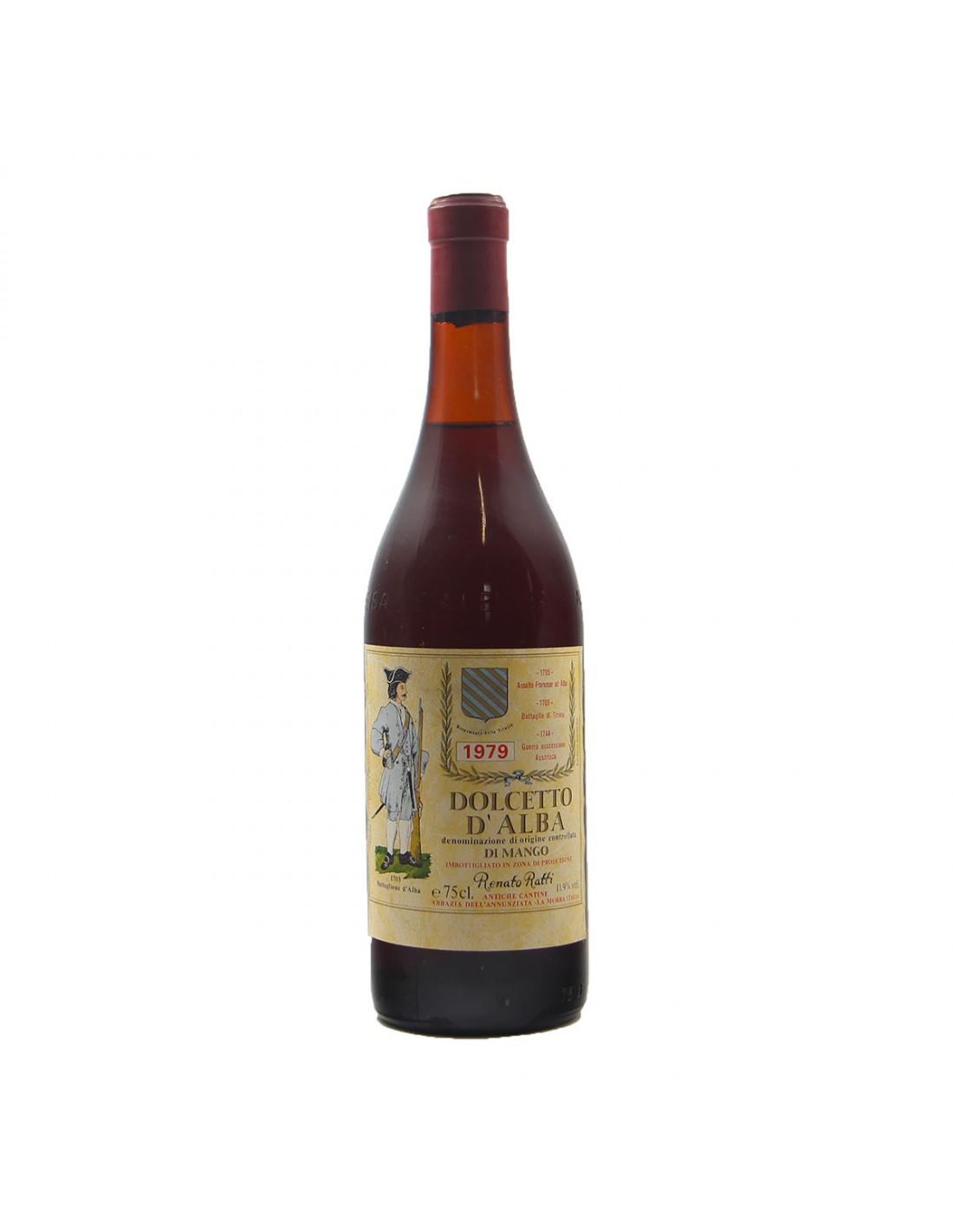 DOLCETTO D'ALBA 1979 RATTI Grandi Bottiglie