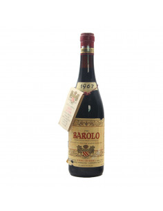 BAROLO 1967 SORDO GIUSEPPE GRANDI BOTTIGLIE