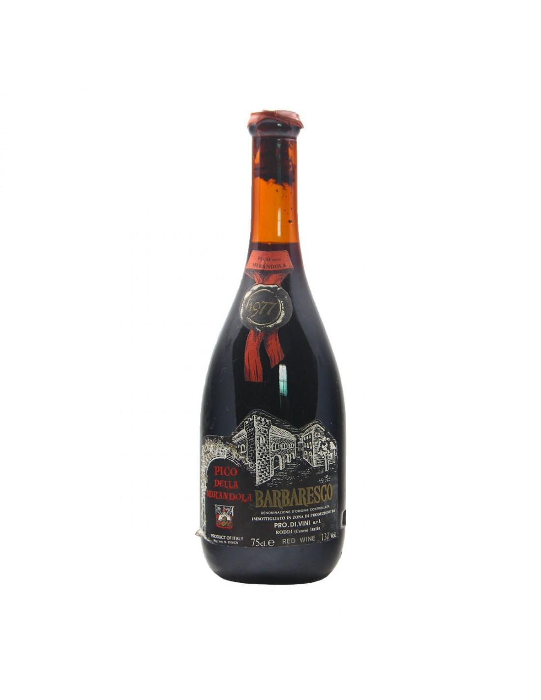 BARBARESCO 1977 PICO DELLA MIRANDOLA Grandi Bottiglie