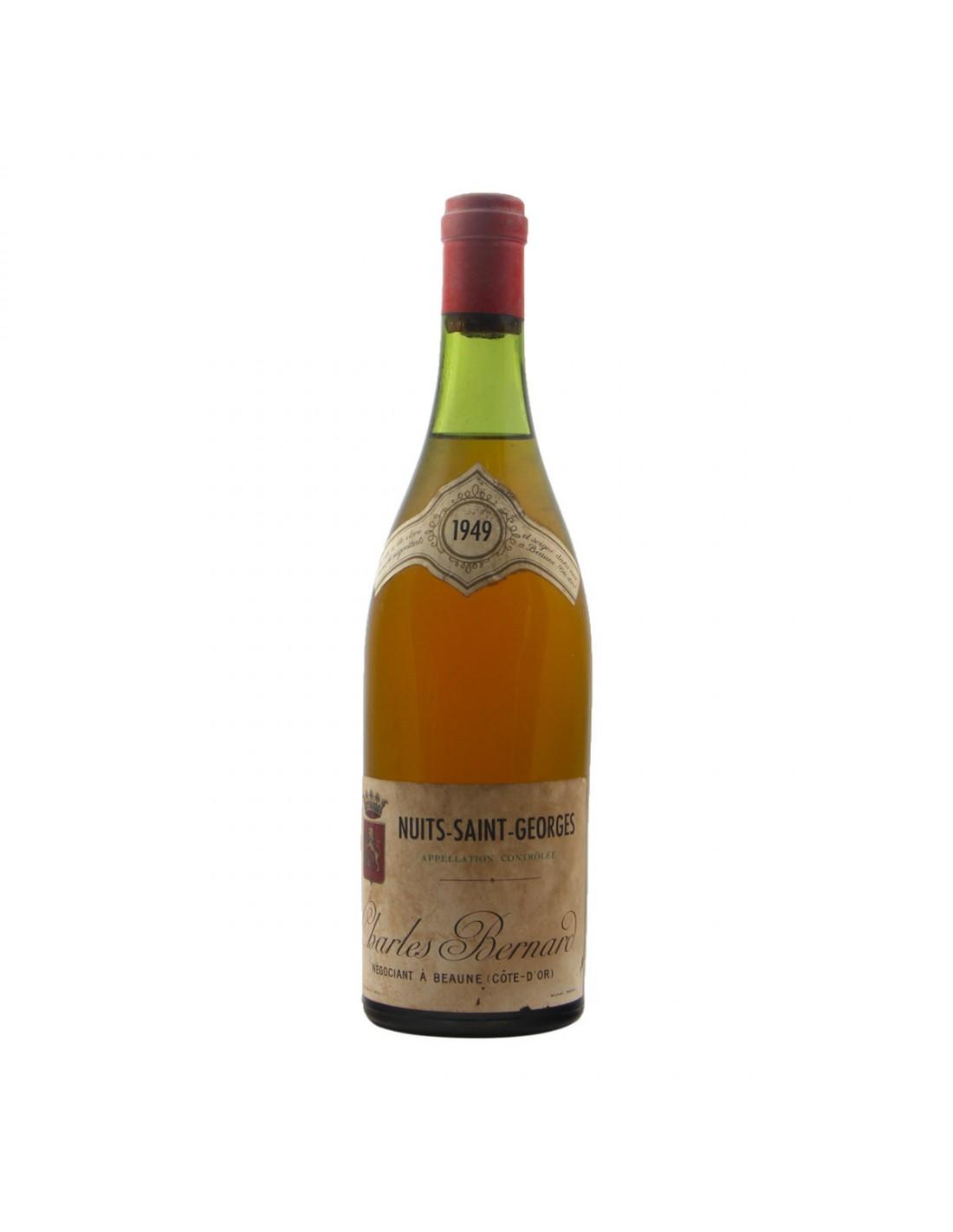 NUITS SAINT GEORGES CLEAR COLOUR 1949 CHARLES BERNARD Grandi Bottiglie