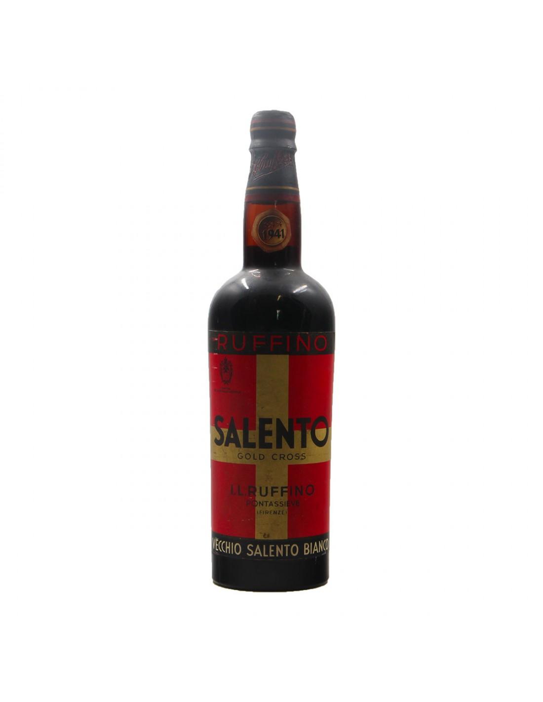 VECCHIO SALENTO BIANCO 1941 RUFFINO GRANDI BOTTIGLIE