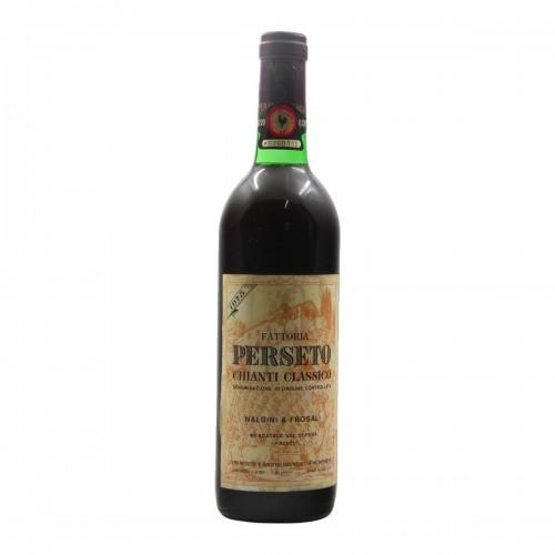 CHIANTI CLASSICO 1975 FATTORIA PERSETO Grandi Bottiglie