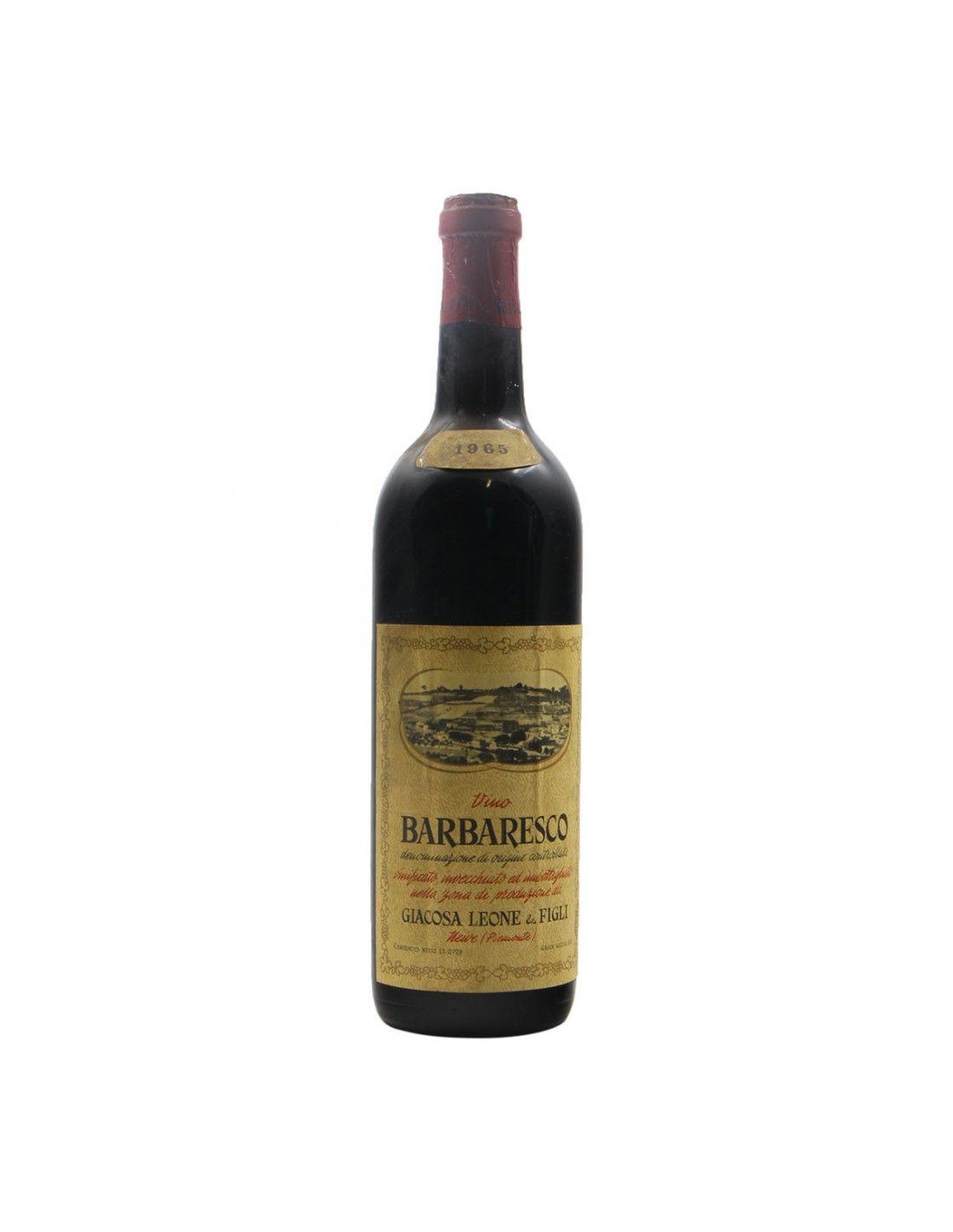 BARBARESCO 1965 GIACOSA LEONE Grandi Bottiglie