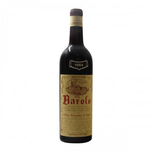 Barolo 1964 PIRA SECONDO GRANDI BOTTIGLIE