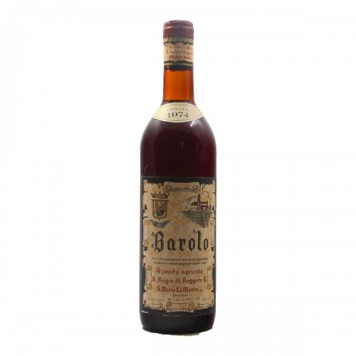 BAROLO 1974 S.BIAGIO DI ROGGERO Grandi Bottiglie