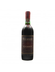 CHIANTI 1973 BARONE RICASOLI Grandi Bottiglie