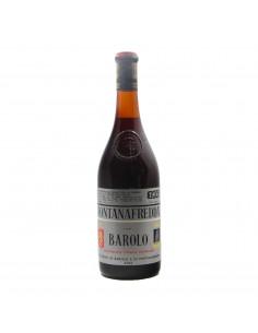 fontanafredda BAROLO  (1966)