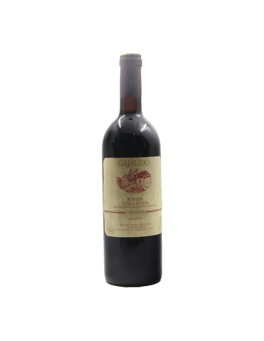 ROSSESE DOLCEACQUA SUPERIORE 1987 GAJAUDO Grandi Bottiglie
