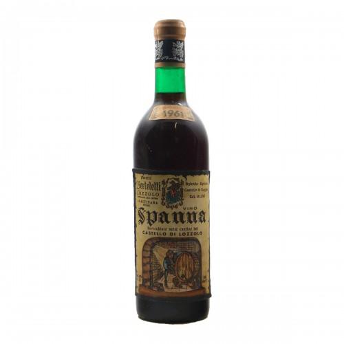 SPANNA CASTELLO DI LOZZOLO 1961 FRATELLI BERTELETTI Grandi Bottiglie
