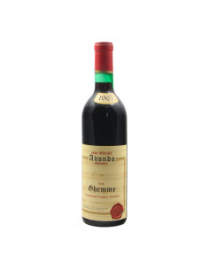 GHEMME 1967 CASA VINICOLA AVONDO Grandi Bottiglie