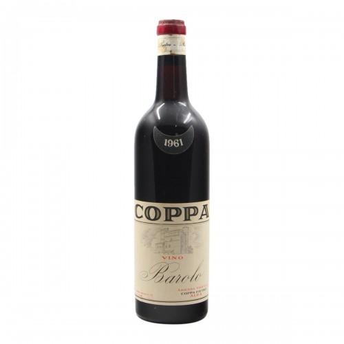 BAROLO 1961 COPPA PIETRO Grandi Bottiglie