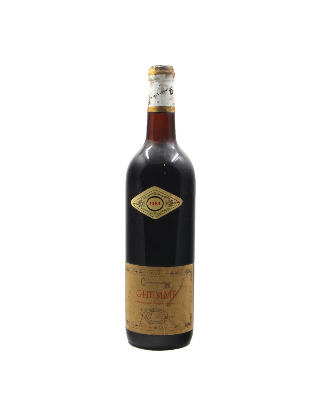 GHEMME 1964 ACQUI Grandi Bottiglie