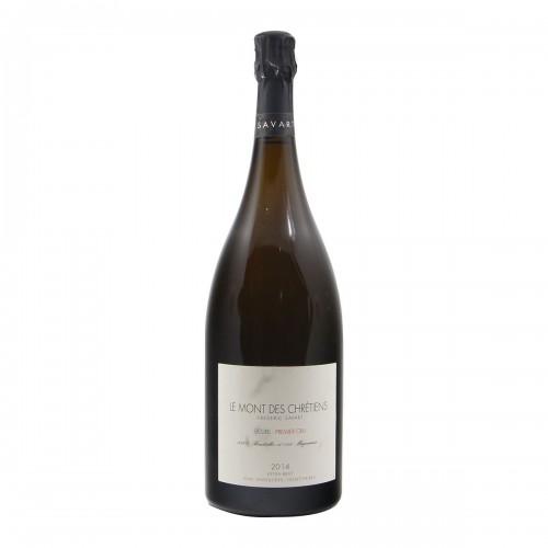 CHAMPAGNE LE MONT DES CHRETIENS MAGNUM 2014 SAVART Grandi Bottiglie