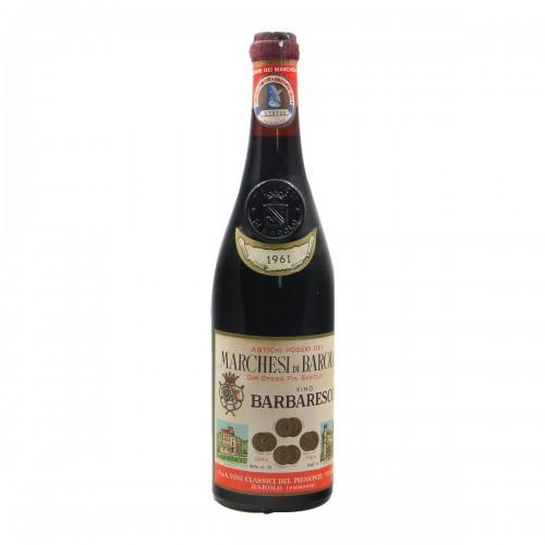 BARBARESCO 1961 MARCHESI DI BAROLO Grandi Bottiglie