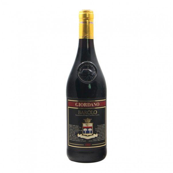 BAROLO 1992 GIORDANO Grandi Bottiglie