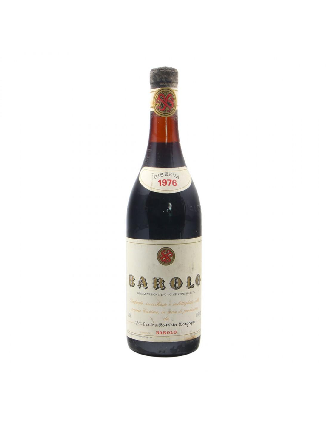 BAROLO RISERVA 1976 BATTISTA BORGOGNO Grandi Bottiglie