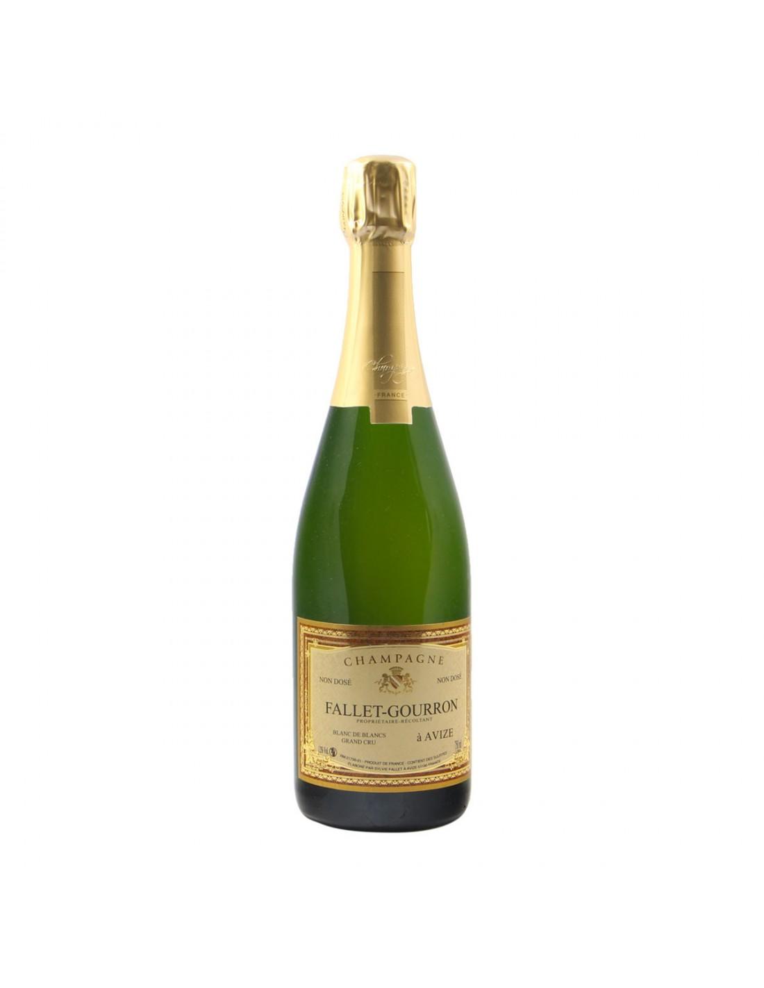 CHAMPAGNE NON DOSE' BLANC DE BLANCS GRAND CRU NV FALLET GOURRON Grandi Bottiglie