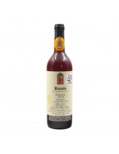 BAROLO CLEAR COLOR 1974 CANTINA DELLA PORTA ROSSA Grandi Bottiglie