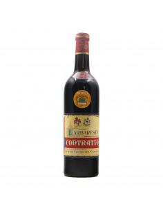 BARBARESCO 1965 CONTRATTO GIUSEPPE Grandi Bottiglie
