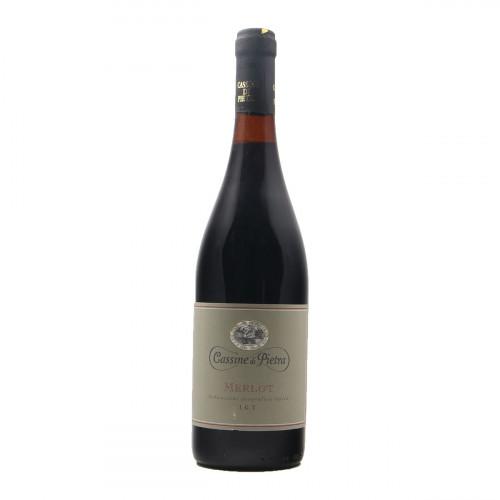 MERLOT 2001 CASSINE DI PIETRA Grandi Bottiglie