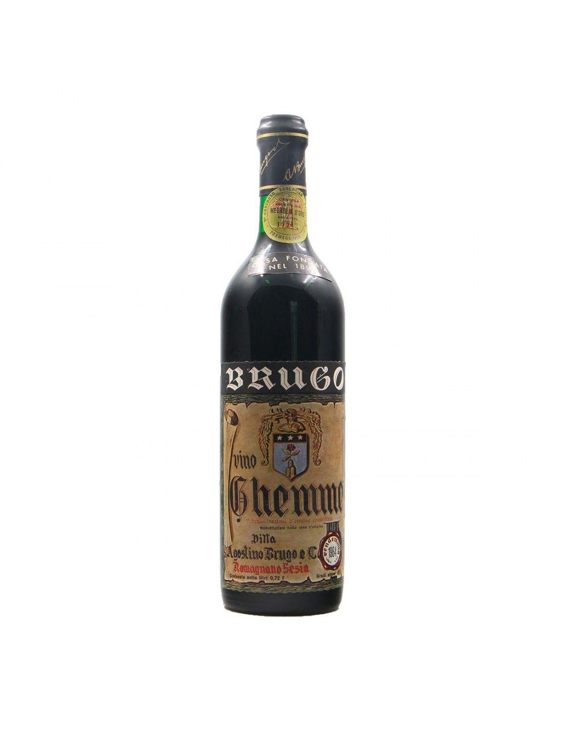 GHEMME 1964 AGOSTINO BRUGO Grandi Bottiglie