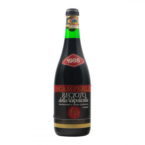 RECIOTO DELLA VALPOLICELLA 1988 FULVIO SCAMPERLE Grandi Bottiglie