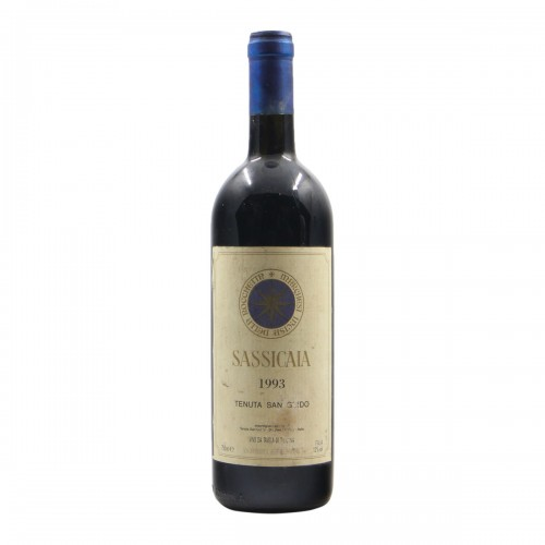 SASSICAIA 1993 TENUTA SAN GUIDO Grandi Bottiglie