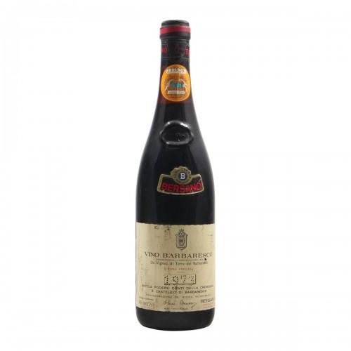 BARBARESCO 1973 BERSANO Grandi Bottiglie