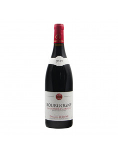 Domaine Lejeune Bourgogne Rouge Les Grandes Carelles 2017 Grandi Bottiglie