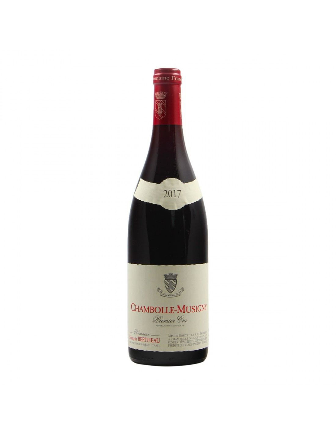 CHAMBOLLE MUSIGNY 1ER CRU 2017 FRANCOIS BERTHEAU Grandi Bottiglie