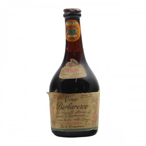BARBARESCO 0.50 L 1962 BERSANO Grandi Bottiglie