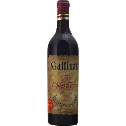 GATTINARA TIPICO SPANNA 1957 CANTINE DIVER Grandi Bottiglie