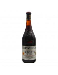 DOLCETTO D'ALBA 1975 FONTANAFREDDA Grandi Bottiglie
