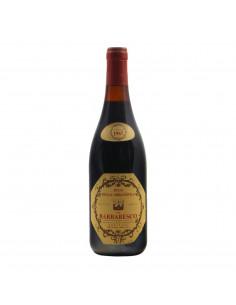 BARBARESCO 1967 PICO DELLA MIRANDOLA Grandi Bottiglie
