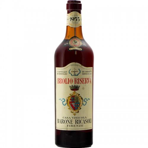 BROLIO RISERVA 1955 BARONE RICASOLI Grandi Bottiglie