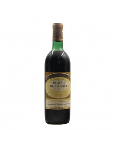 GRAND VIN PLAISIR DE FRANCE 1964 CORDIER GRANDI BOTTIGLIE