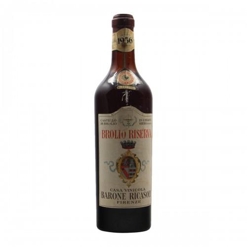 BROLIO RISERVA 1956 BARONE RICASOLI Grandi Bottiglie