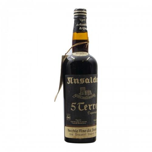 SCIACTRAC VINO LIQUOROSO 5 TERRE 1957 ANSALDO Grandi Bottiglie