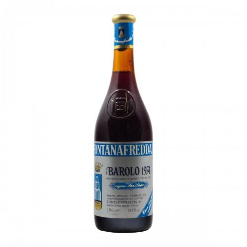 BAROLO VIGNA SAN PIETRO 1974 FONTANAFREDDA Grandi Bottiglie