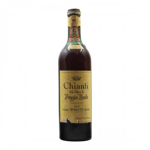 CHIANTI POGGIO REALE 1956 SPALLETTI Grandi Bottiglie