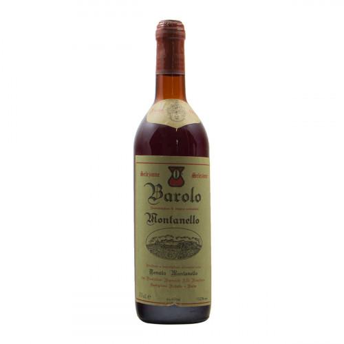 BAROLO 1970 TENUTA MONTANELLO Grandi Bottiglie