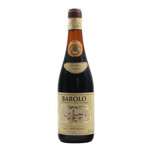 BAROLO 1968 BRERO Grandi Bottiglie