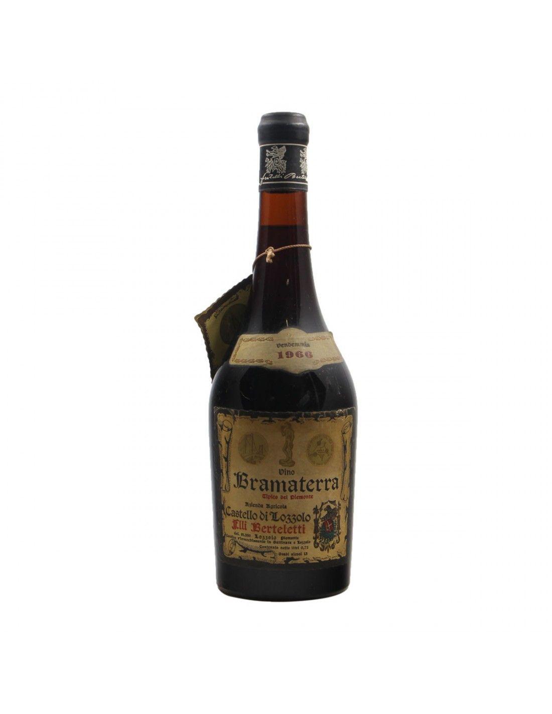 BRAMATERRA 1966 FRATELLI BERTELETTI Grandi Bottiglie
