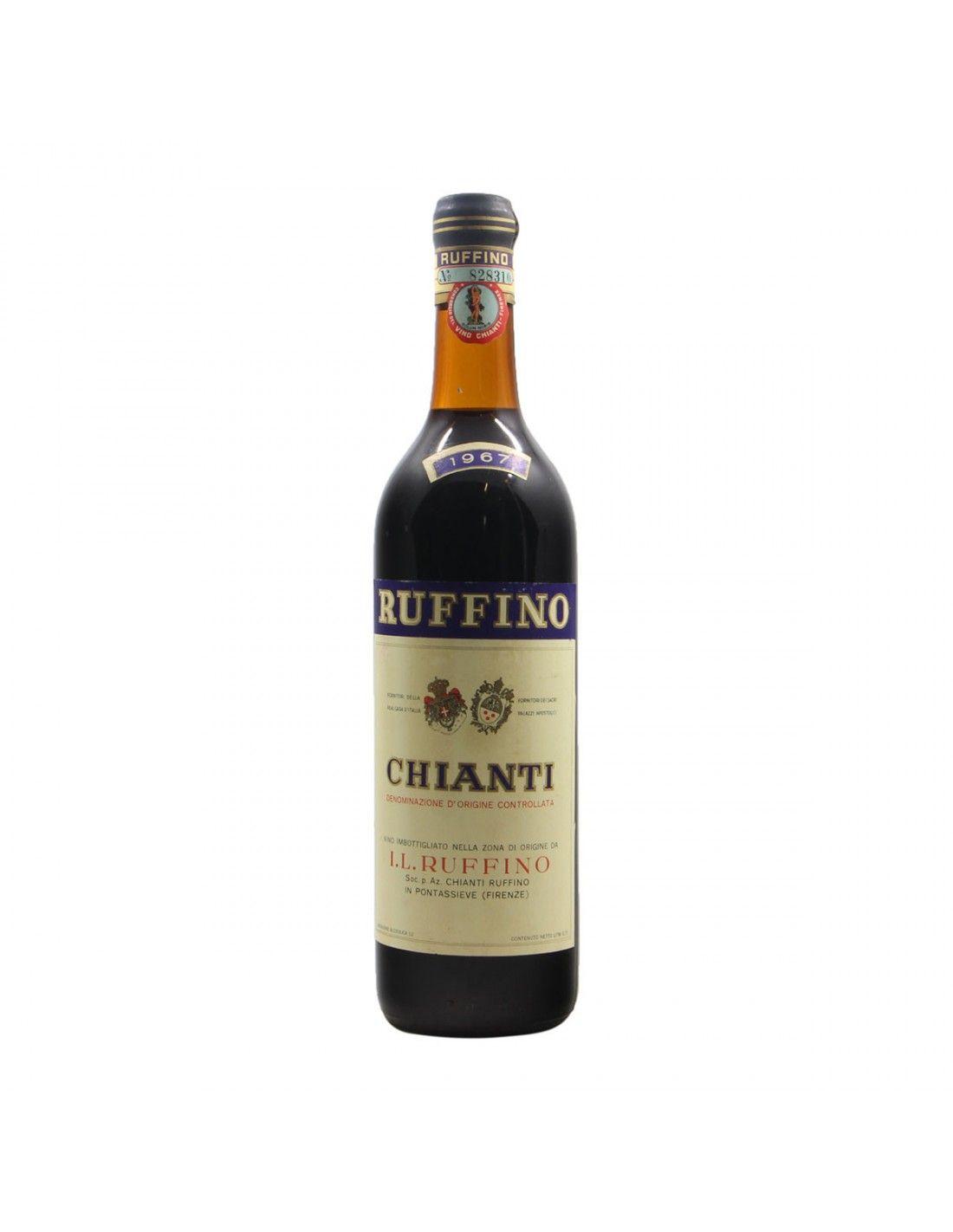 Chianti Vecchio 1967 RUFFINO GRANDI BOTTIGLIE
