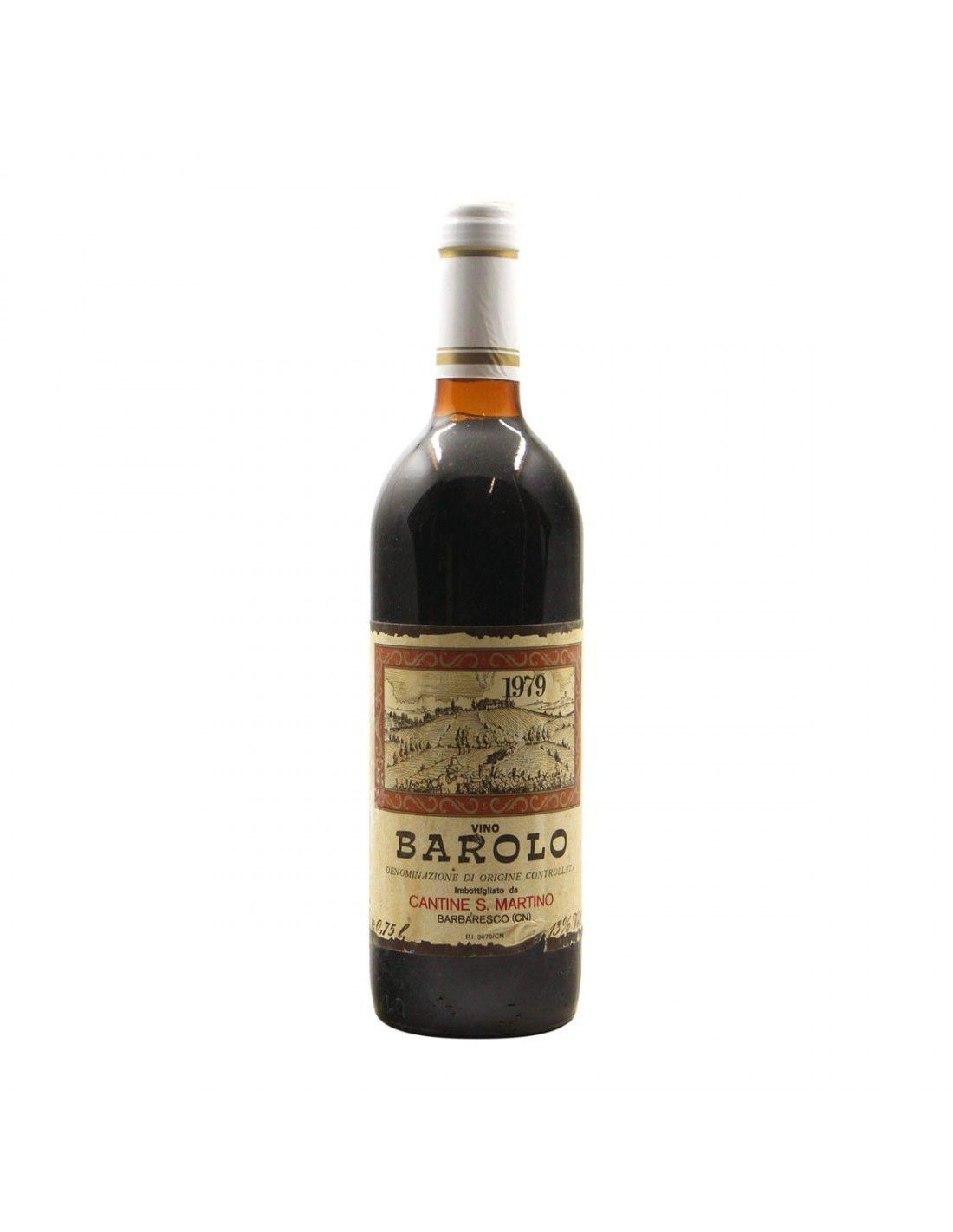 BAROLO 1979 SAN MARTINO Grandi Bottiglie