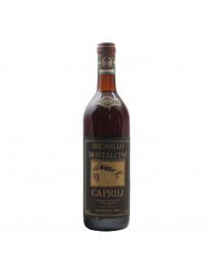 BRUNELLO DI MONTALCINO 1978 CAPRILI Grandi Bottiglie